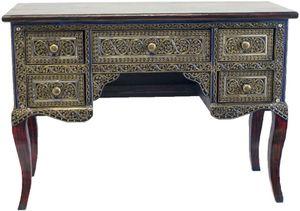 Schreibtisch Sekretär 5 Schubladen Desk Möbel China Asien Neu Antik Style '9