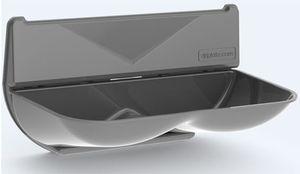 Driplate™ Wassersammler aus Polycarbonat-ABS für Dyson Händetrockner , Variante:Grau