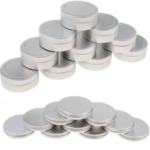 20 Stk. Leer Blechdosen Runde Aluminiumdose Döschen Creme Dosen Tiegel Für Kosmetik