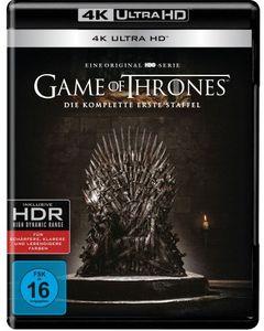 Game of Thrones - kompl. Staffel 1 (UHD) Min: 562DD5.1WS  4Disc