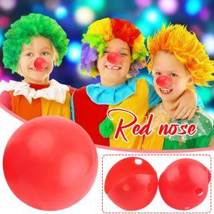 1x Kunststoff rote Nase Tag Halloween Clown Zirkus Schaum Kostüm Nase Maskerade NKN210325972