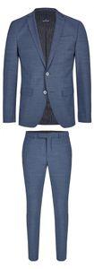 Daniel Hechter - Slim Fit - Herren Baukasten Anzug in grau oder blau (100105), Größe:24, Farbe:Blau (670)
