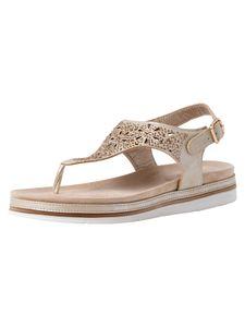 Jana Damen Sandale beige 8-8-28704-36 H-Weite Größe: 37 EU