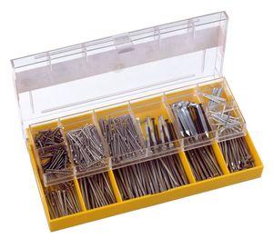 CONNEX Nägel und Stifte-Sortimentskasten, 70- teilig, DP8500010