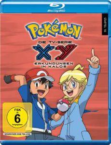 Pokemon Staffel 18: XY - Erkundungen in Kalos (Blu-ray) - Studio Hamburg Enterprises  - (Blu-ray Video / Sonstige / unsortiert)