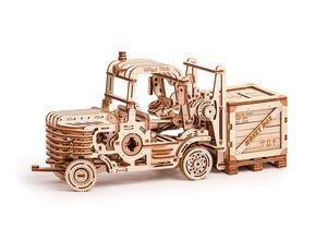 Wood Trick - Holz Modellbau Forklift Gabelstapler 385 Teile