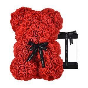 Künstlerische Rosenblüten Dekoration kann als Geschenk Verwendet Werden Geschenke zum Valentinstag,Rot