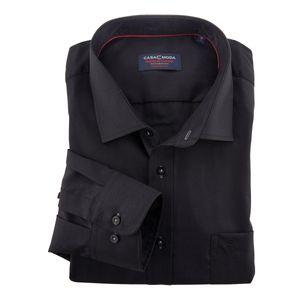 XXL CasaModa Langarmhemd schwarz bügelfrei , Kragenweite:44