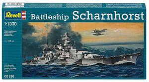 Revell Modellbausatz Battleship Scharnhorst 1:1200