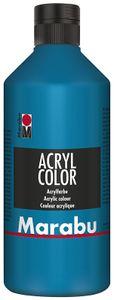 Marabu Acrylfarbe Acryl Color 500 ml rubinrot 038
