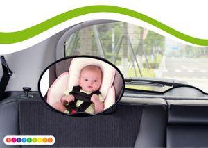 Rücksitzspiegel für Babys, Universal Autositz, Rückspiegel Baby Auto,  Babyblume OVAL