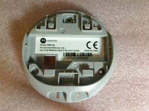 Batterie Plastik Fach Akku Motorola Babyphone MBP140