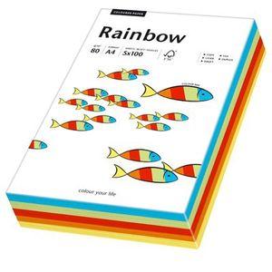 Papyrus Rainbow A4, 80 g/m², 100 Blätter, A4, 210 x 297 mm