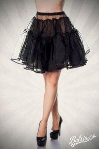 Petticoat, Farbe: Schwarz, Größe: XS-L