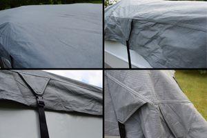 GreenYard Wohnwagen Schutzdach 8,5m Schutzhülle Wohnmobil Abdeckung Dach Garage