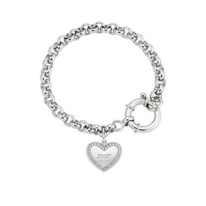 JOOP! Herz Armband 2025051 Sterling Silber mit synth. Zirkonia 20 cm