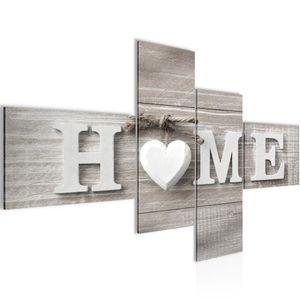 Home Herz BILD 160x80 cm − FOTOGRAFIE AUF VLIES LEINWANDBILD XXL DEKORATION WANDBILDER MODERN KUNSTDRUCK MEHRTEILIG 504445a