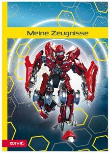 """ROTH Zeugnismappe """"Dynamic Robot"""" DIN A4 inkl. 10 PP-Hüllen"""