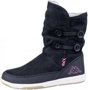 KAPPA Cream Mädchen Winter Synthetik Stiefel black, Warmfutter, warme Decksohle