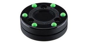 Green Biscuit Roller Hockey Puck, Farbe:schwarz/grün