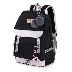 Schulrucksack Mädchen Schulranzen Jungen Schultasche mit Ergonomischem Design Rucksack Campus Backpack Nylon Wasserdicht Daypacks Damen Freizeitrucksack Teenager Rucksäcke Modisch Schule Bag