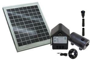 TIP Solar-Teichpumpen PUMPE Set mit Speicherakku SPS 800/12 NEU