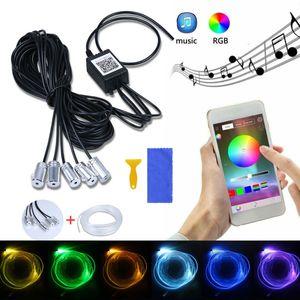 Auto RGB LED 6m Ambientebeleuchtung Innenraumbeleuchtung Lichtleiste Mit App Control