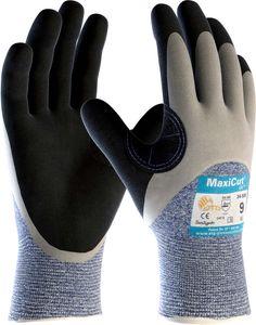 ATG Schnittschutz-Handschuhe 34-505 Schnittschutzhandschuhe MaxiCut Oil 2496 Mehrfarbig grau/schwarz 10