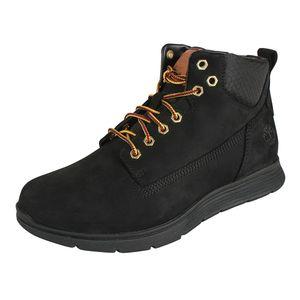 Timberland Killington Chukka Herren Schnürstiefelette Winterschuhe Stiefel Schuhe Schwarz, Größe:46