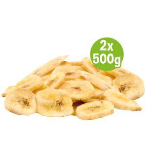 Schecker Bananen Chips - Mit Kokosöl - Glutenfrei - ohne Zuckerzusatz - veggi