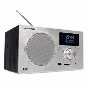 BLAUPUNKT RXD 35 BK Digitalradio DAB+ UKW FM LCD Display USB SD Wecker, Schwarz