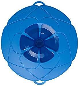Kochblume das Original - der Überkoch-Schutzdeckel mittel 29 cm Farbe blau