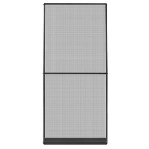 vidaXL Insektenschutz für Türen Anthrazit 100x215 cm