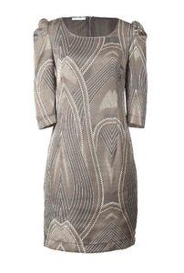 APART Satinkleid, grau-taupe Kleider Größe: 36