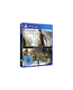 Assassins Creed Doppelpack Odyssey + Origins PS-4