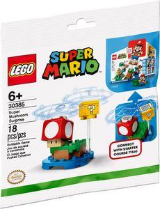 LEGO Super Mario Superpilz Überraschung – Erweiterungsset - 30385, Bausatz, Junge/Mädchen, 6 Jahr(e), 18 Stück(e), 26 g