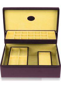 Windrose Merino Charmbox Schmuckkasten 30,5 cm