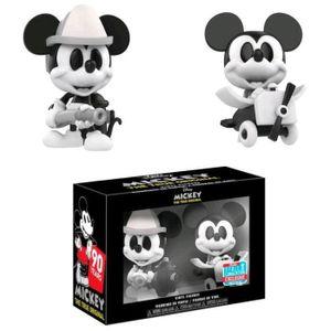 Funko Mini Vinyl Figur-Disney: 2PK Mickey Mouse (B & W)