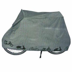 Fahrradgarage Fahrrad Schutzhülle Wasserdicht | Abdeckplane Zweiradgarage Grau | Rollerabdeckung Moped Schutzhaube