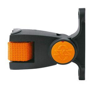 SKS Flaschenhalteradapter Schwarz-Orange