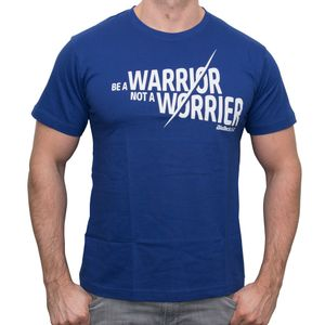 BioTech USA T-Shirt 'A Warrior not a Worrier', Größe:XXL