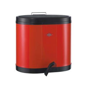 Wesco 170611 Öko-Sammler 2x15 Liter, Rot