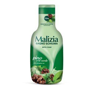 MALIZIA - PINO Pinie & grüner Tee - Badeschaum 1000ml