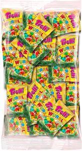 Trolli Wurrli Fruchtgummi Würmer 100x10g Beutel für Karneval oder Party, 1000g