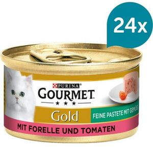 Gourmet Gold mit Forelle & Tomaten (85 g)