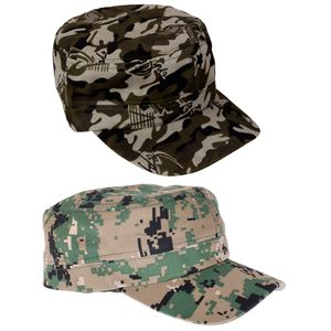 2pcs Männer Camo Cap Einstellbare Jagd Angeln Hut Baseball Camouflage