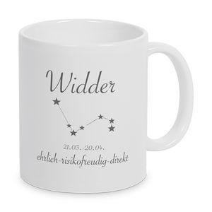 Sternzeichen Widder - Tasse