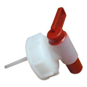 1 x AFT-Hahn, Auslaufhahn, Ablasshahn, Ölhahn Kunststoff DIN Norm 51 (Hahn 51)