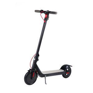 OCDAY 8,5-Zoll 350 Watt Klappbar Elektroscooter , Anti-Rutsch-Reifen und LCD-Bildschirm   10Ah Akku   Ausdauer bis zu 35km Motor schwarz   E-Scooter Elektroroller Cityroller City Roller E-Bikes Erwachsene