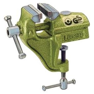 Parallel-Schraubstock 80 mm mit Bügel Farbe grün